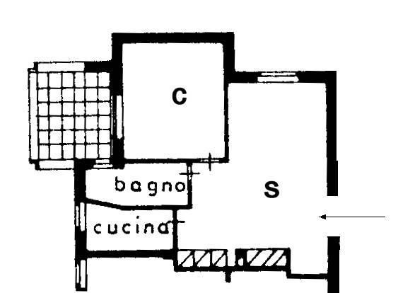 Bilocale via Giacomo Matteotti 55, Peschiera Borromeo (Quadrifoglio)