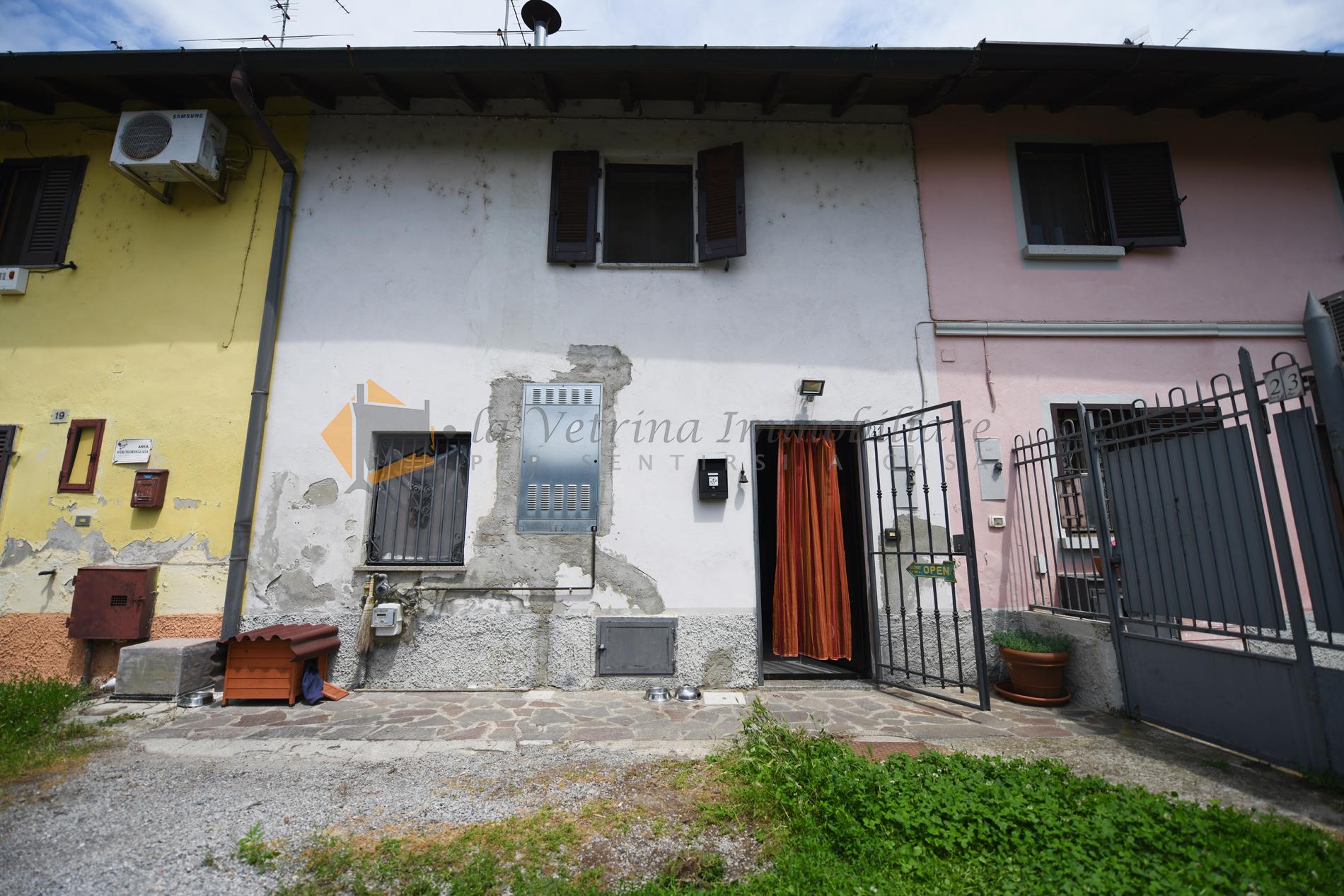 Affare!! casa semi-indipendente da riattare parzialmente